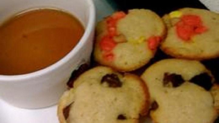 Jeweled Pancake Muffins - Puffins