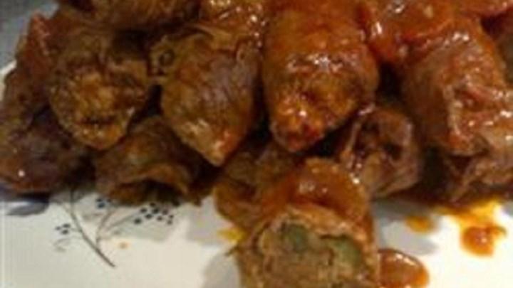 Ontario Beef Rouladen