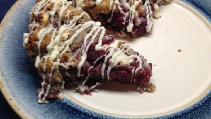 Luscious Raspberry Scones