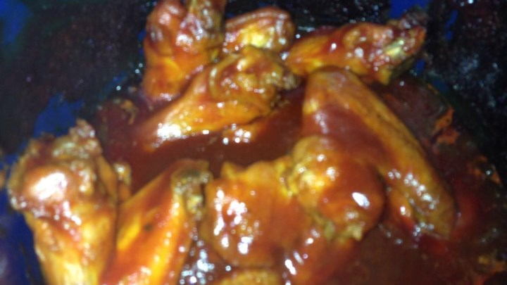 Tangy Barbecued Wings