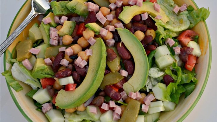 Avocado and Ham Salad