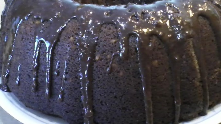 Tunnel of Fudge Cake I