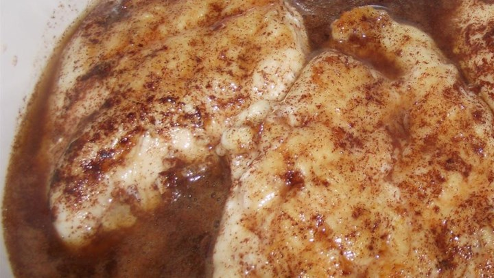 Easy Apple Cider Chicken