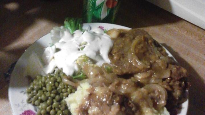 Pesto Baked Pork Chops