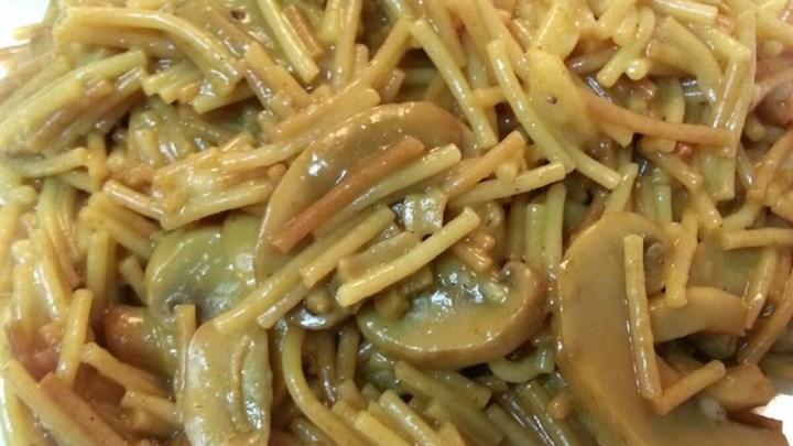 Broken Spaghetti Risotto