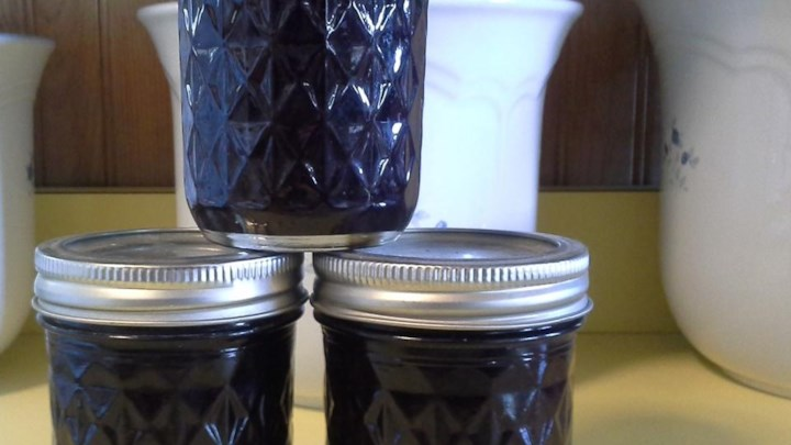 Blueberry and Raisin Jam