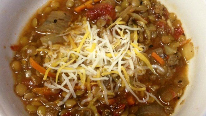 Hearty Lentil and Sausage Soup Recipe - Allrecipes.com