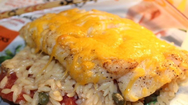 Savory Baked Cod
