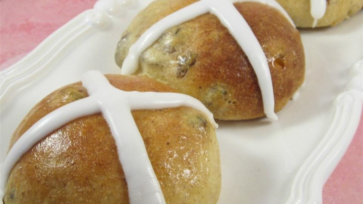 British Hot Cross Buns