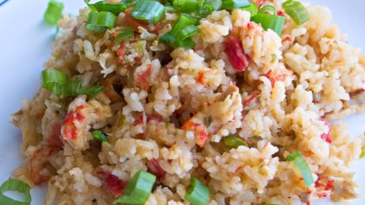 Rice Cooker Crawfish Tails