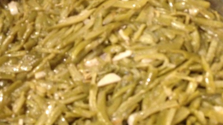 Zesty White Wine Green Beans
