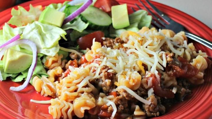 Mexican Mostaccioli