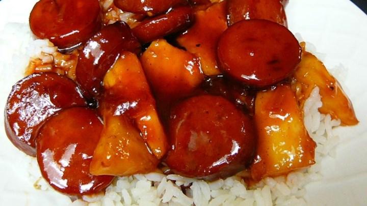 Sweet and Oh So Spicy Kielbasa