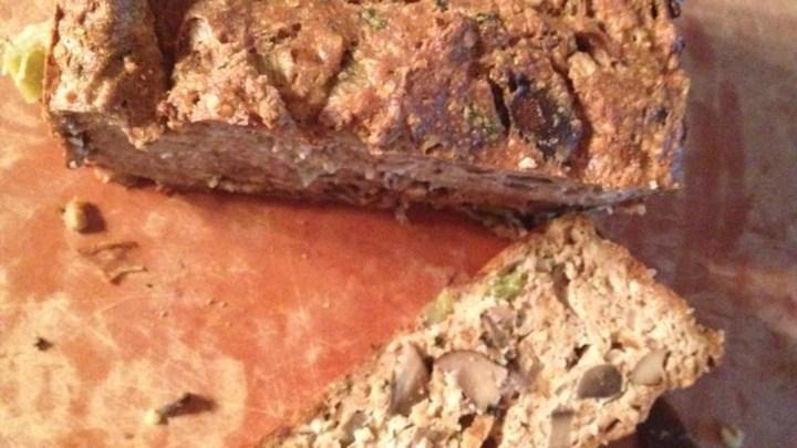 Vegetarian Tofu and Nut Loaf