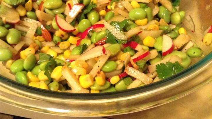 Oriental Edamame Salad