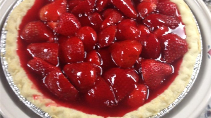 Fresh Strawberry Pie III