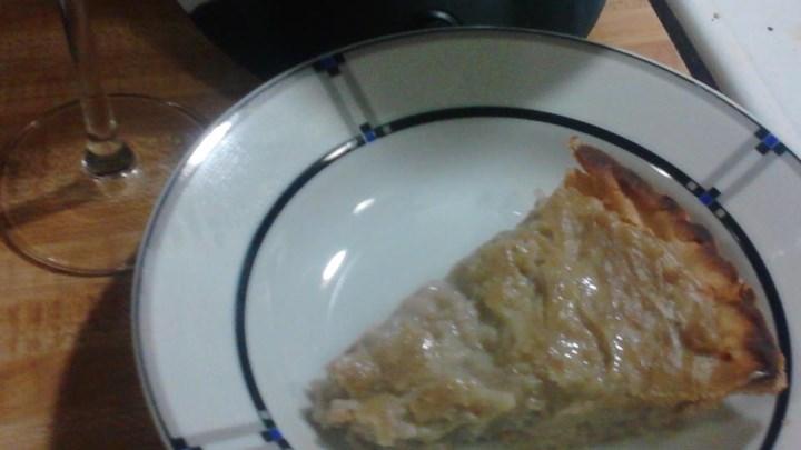 Jicama Pie