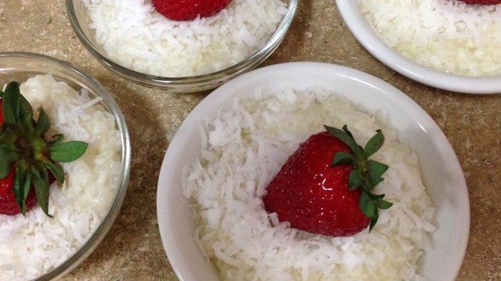 Coconut Tapioca Pudding