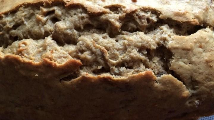 Healthier Banana Sour Cream Bread