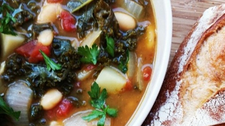 Home Recipes Soups, Stews and Chili Soup Vegetable Soup Kale Soup