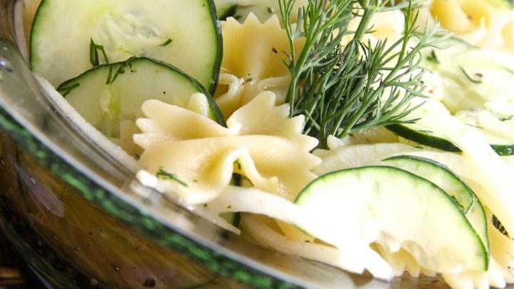 Home Recipes Salad Pasta Salad Farfalle Pasta Salad