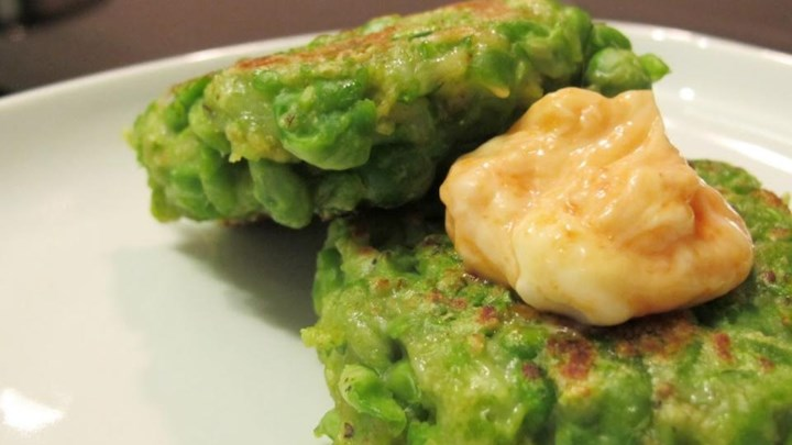 Green Pea Patties