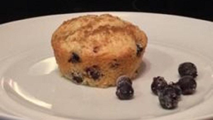 Saskatoon Berry Oat Muffins