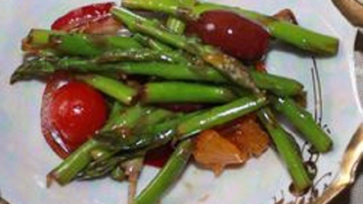 Asparagus and Mandarin Orange Salad