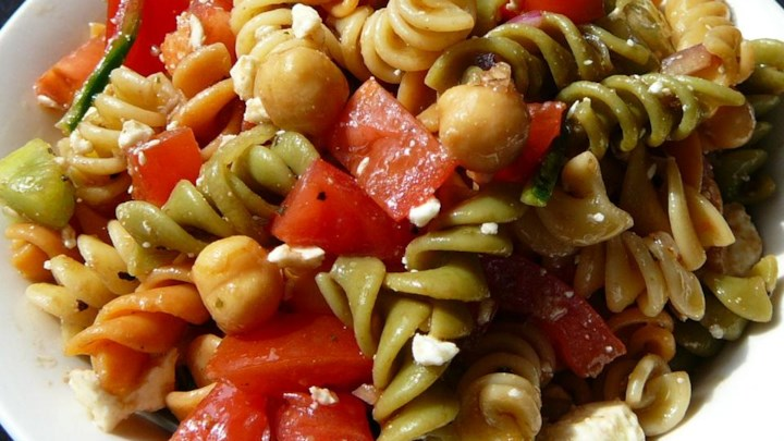 Sandy's Greek Pasta Salad