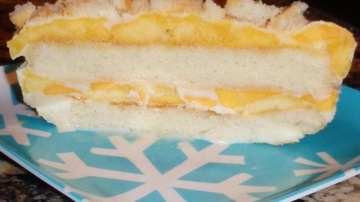Mango Ice Box Cake