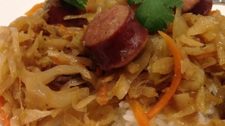 Kielbasa and Cabbage II