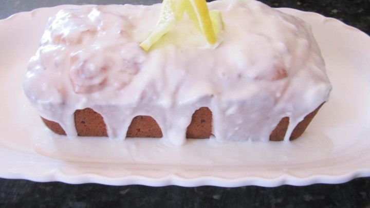 Passover Iced Lemon Loaf