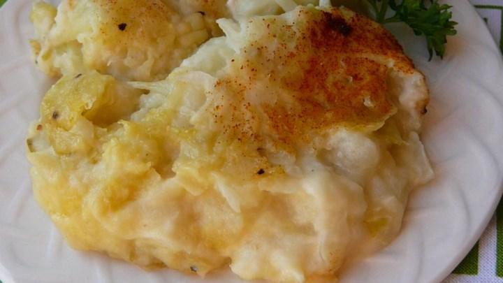 Cream Cheese Colcannon