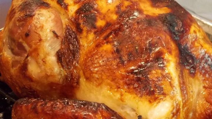 Lauren's Apple Cider Roast Turkey