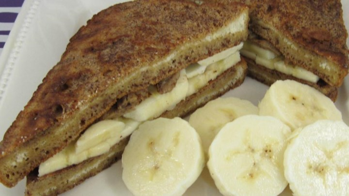 Vanilla Banana French Toast