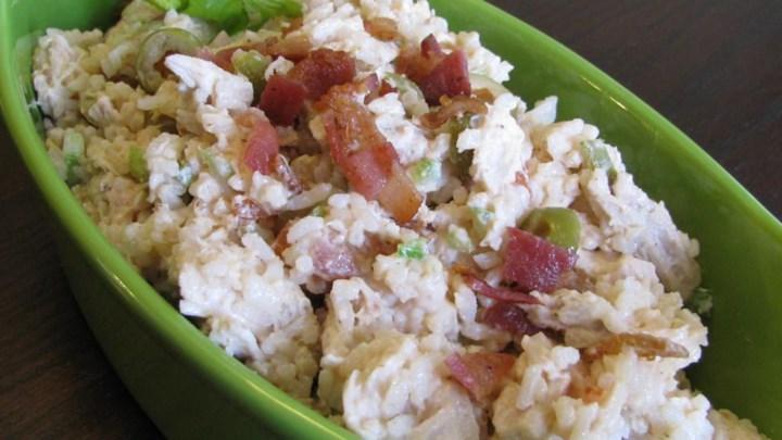 Lemon BBQ Chicken Salad