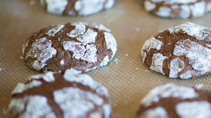 Chocolate Crinkles III