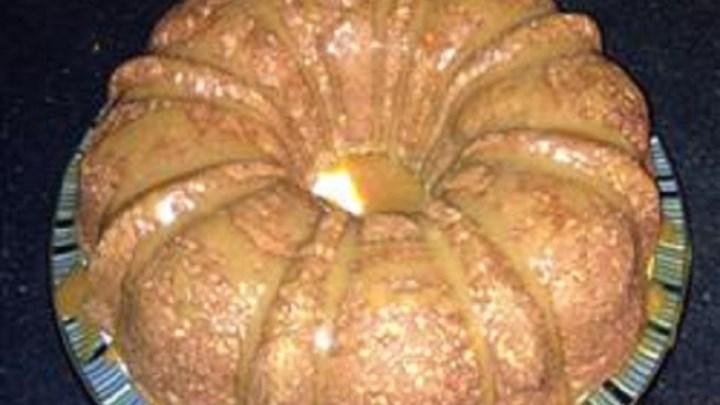 Gluten-Free Caramel Apple Cake