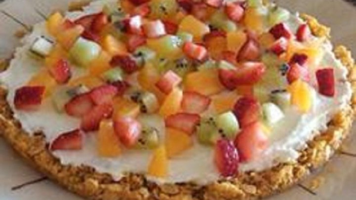 Golden Fruit Pizza