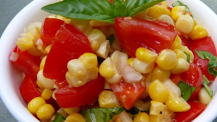 Home Recipes Salad Vegetable Salads Corn Salad
