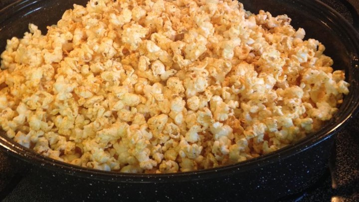 Cajun-Spiced Popcorn Recipe - Allrecipes.com