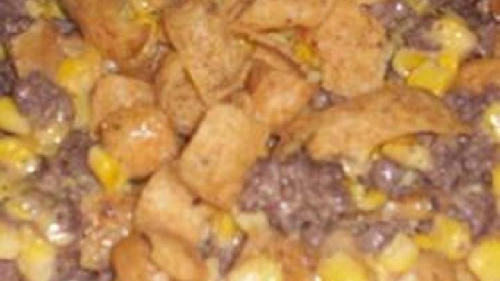 Squat Corn (a.k.a. 'Skillet Fritos®')