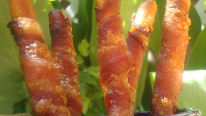 Candied Bacon Sticks