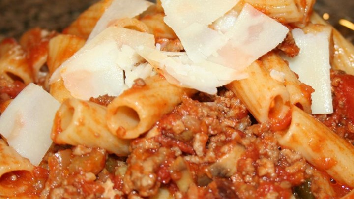 Dad's Bolognese Meat Sauce