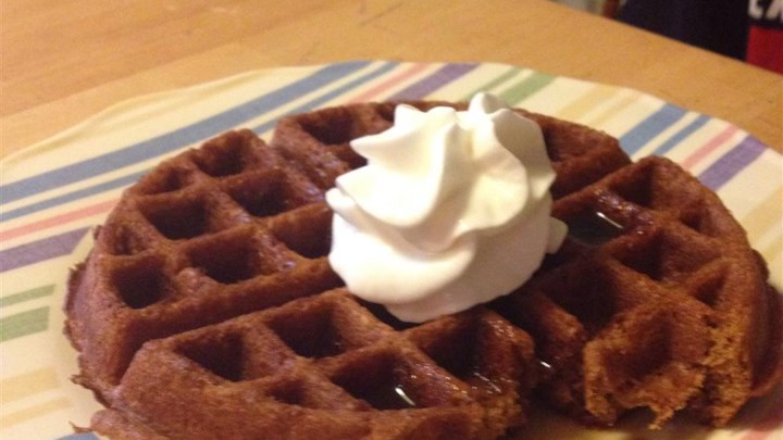 gingerbread waffles gingerbread waffles with gingerbread waffles with ...