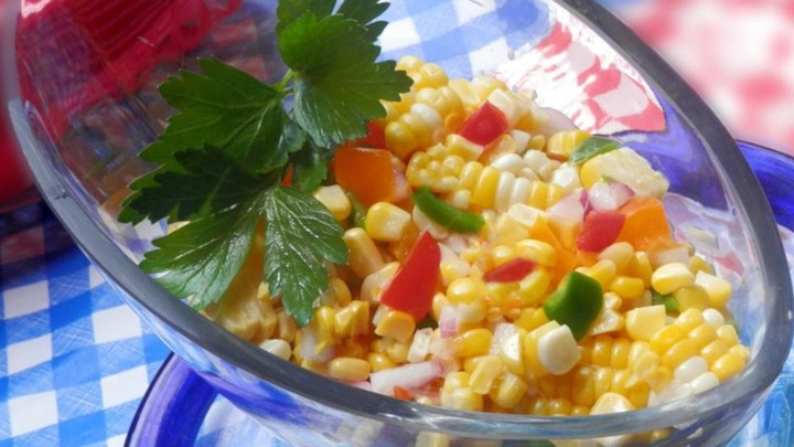Summer Anytime Crisp Corn Salad