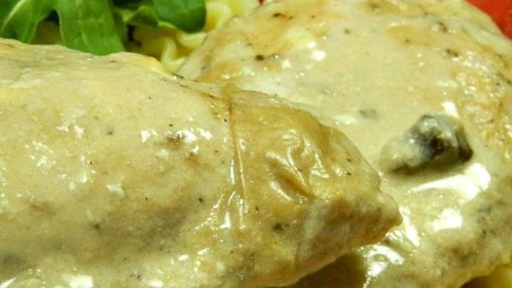 Simple Chicken Stroganoff