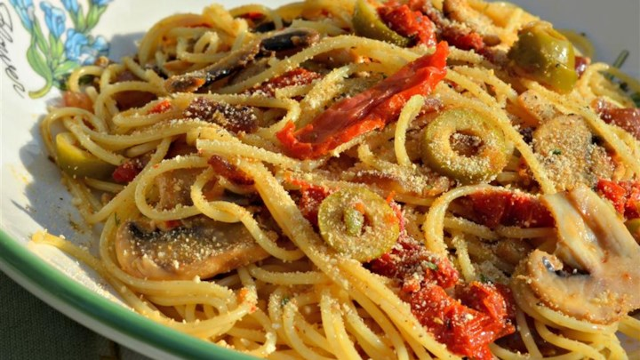 Emily's Mediterranean Pasta