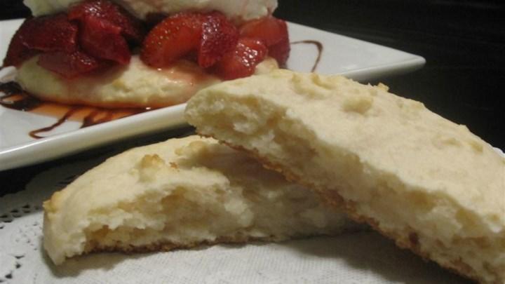 Cream Cheese Shortbread