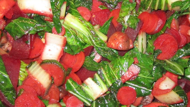 Bok Choy with Carrot